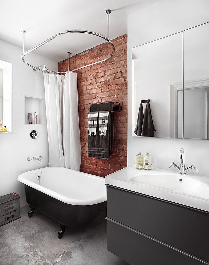 metropolitan sideboard exclusive furniture industrial bathroombathroom interior designbrick