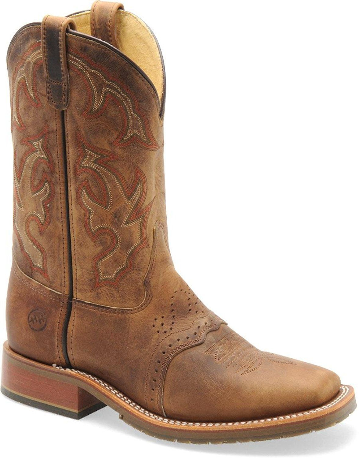 a9708dfdafbfc Double H Boot - Mens - 11 Inch Domestic Square Toe Ice Roper ** This ...