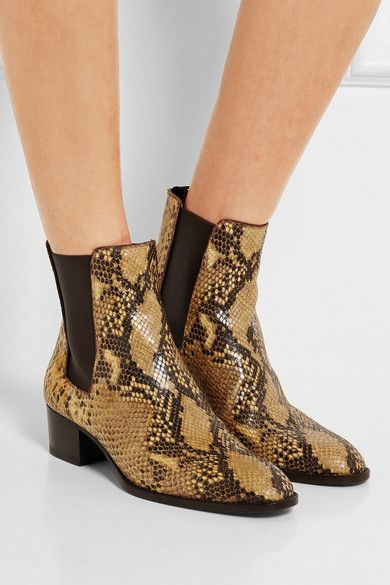 Yves Saint Laurent Python Ankle Boots reliable cheap price factory outlet 69fJw