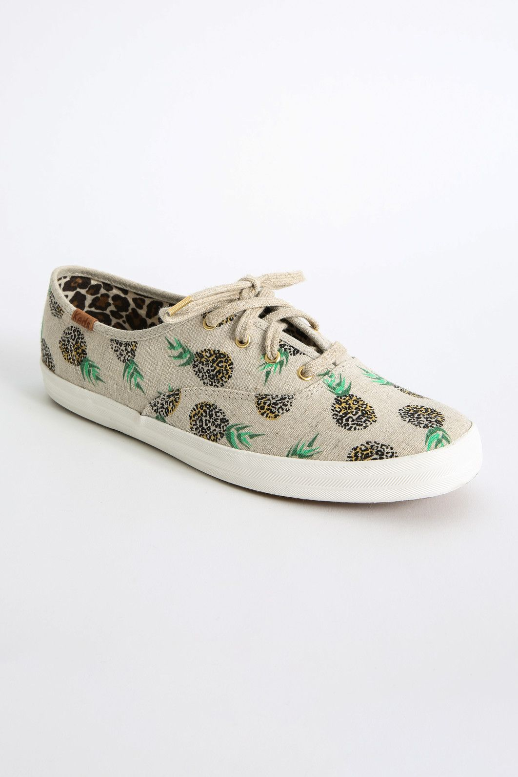 Keds Lace Up Pineapple Sneakers   Keds