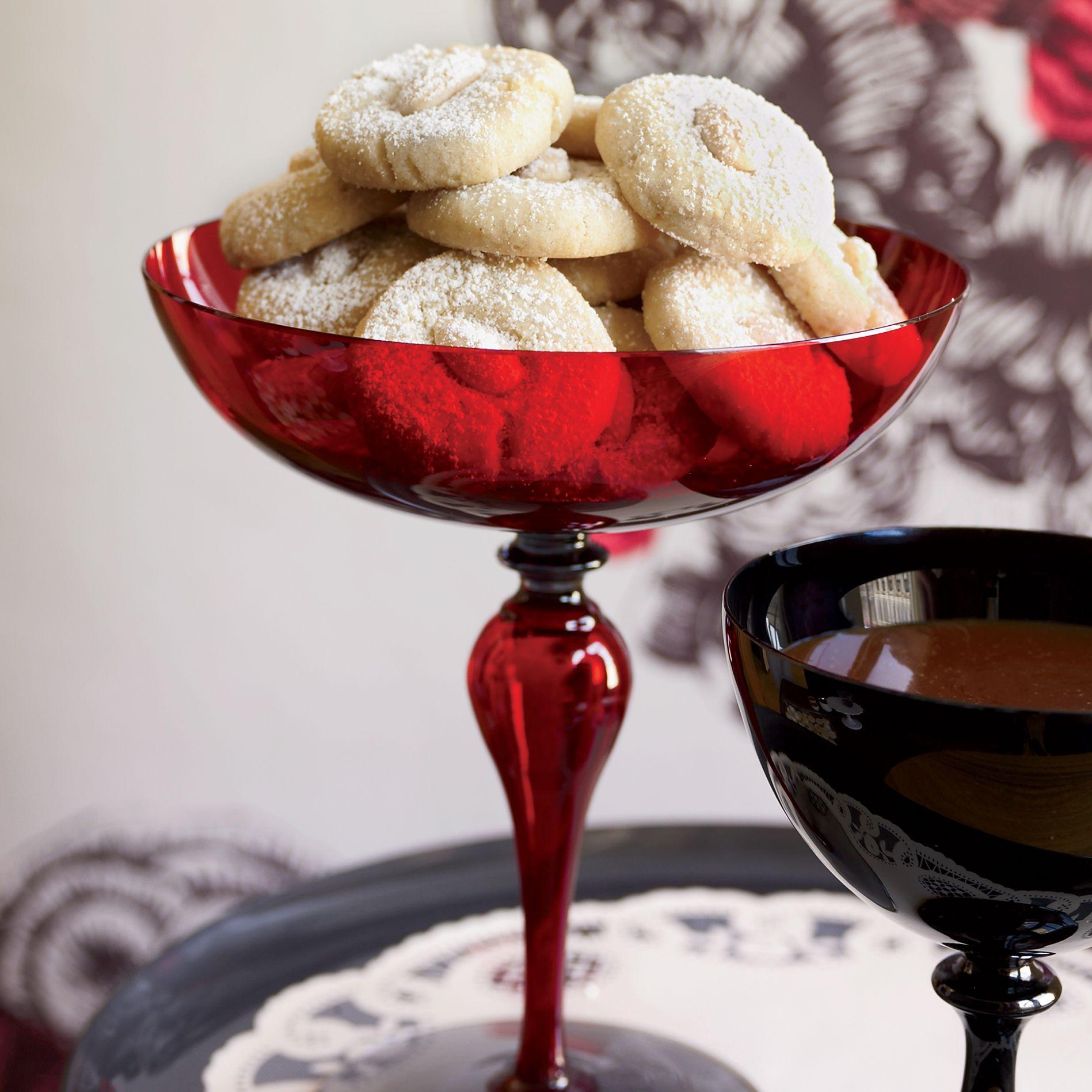 Almond Cookies With Caramel Dipping Sauce Recipe Caramel Dipping Sauce Almond Cookies Caramel Cookies