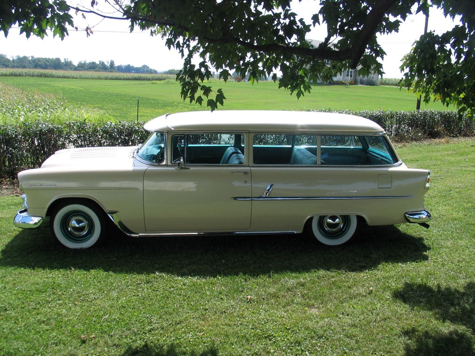 55 210 Handyman Wagon 1955 Chevrolet Chevrolet Woody Wagon