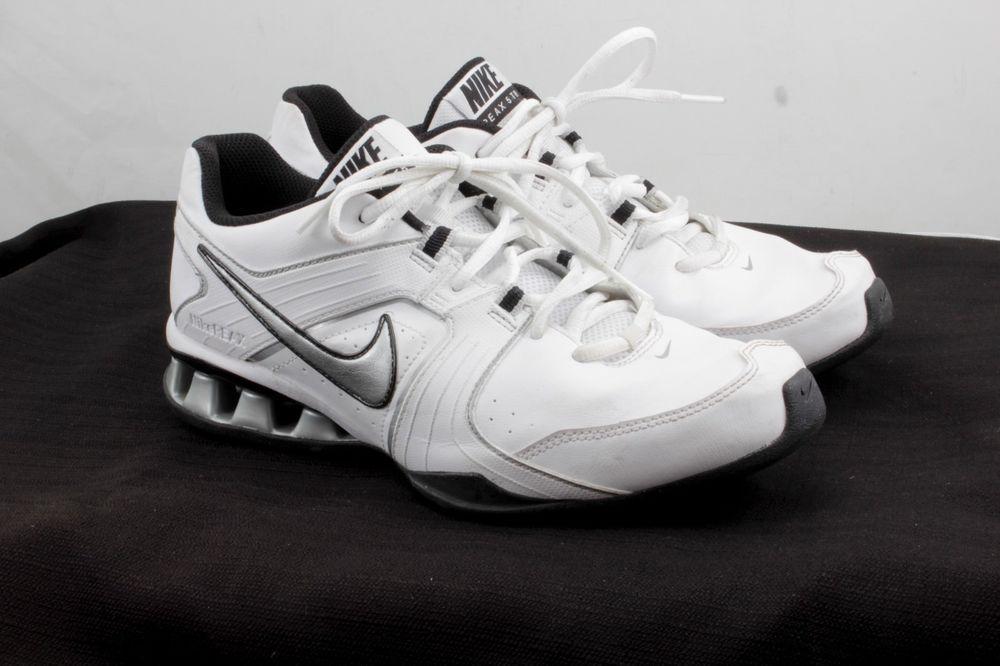 Nike Reax Run 5 TR Womens Running Shoes Sz 8 EU 41 White Gray Trainers