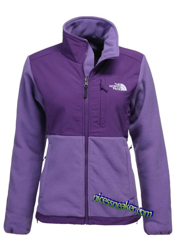 Save Up To Womens The North Face Denali Fleece Jacket Lion Purple Low Purple
