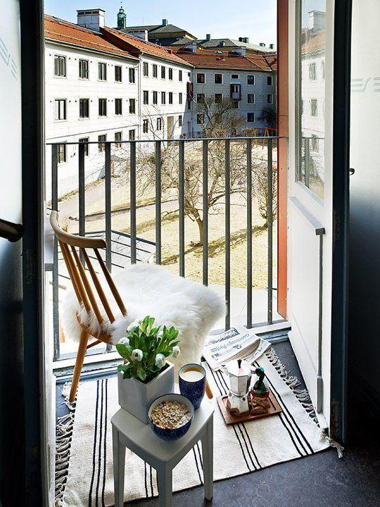 An Urban Oasis Cozy Balconies