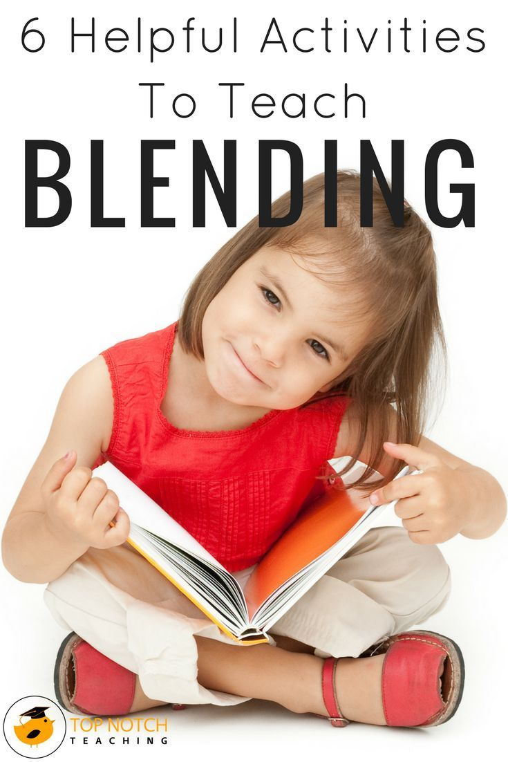 6 Helpful Activities To Teach The Skill Of Blending Teaching Child To Read Teaching Phonics For Kids How to teach child to read and spell