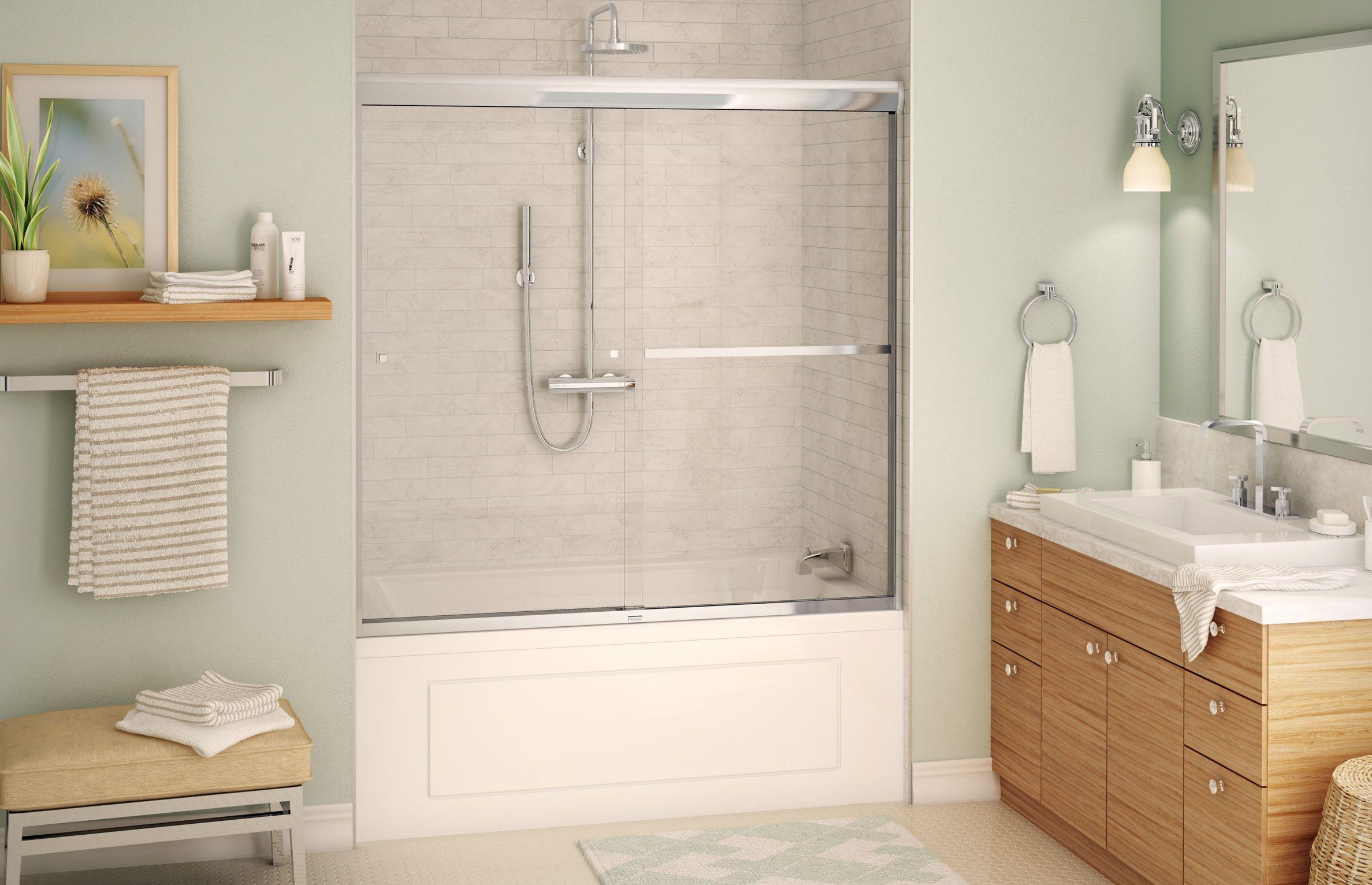 Aura 8mm SC – Tub Shower Door - MAAX | Staging for resale ...