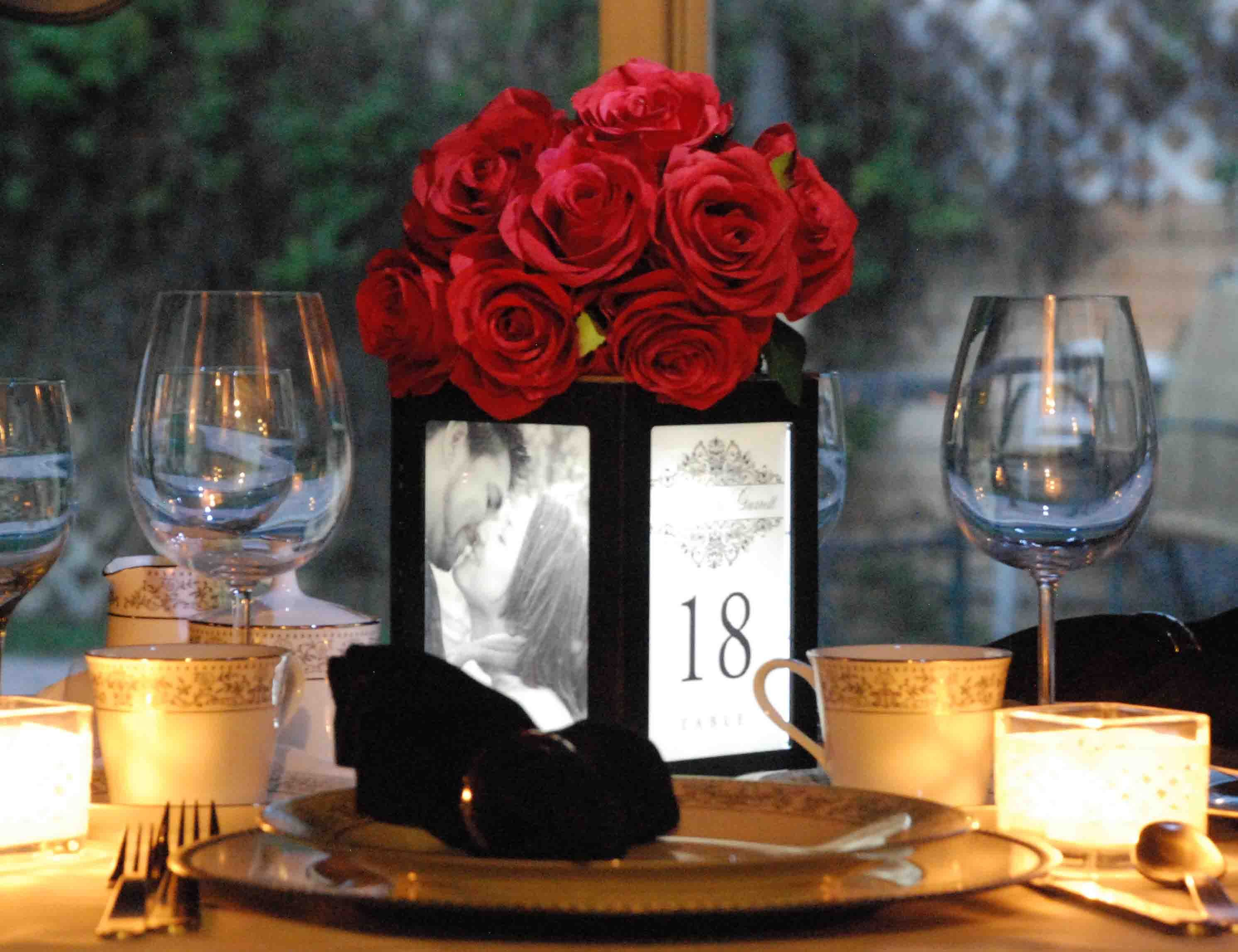Table Centerpieces, Wedding Centerpiece, Banquet Centerpiece, Events  Centerpiece and Restaurant Table Tent Illuminated