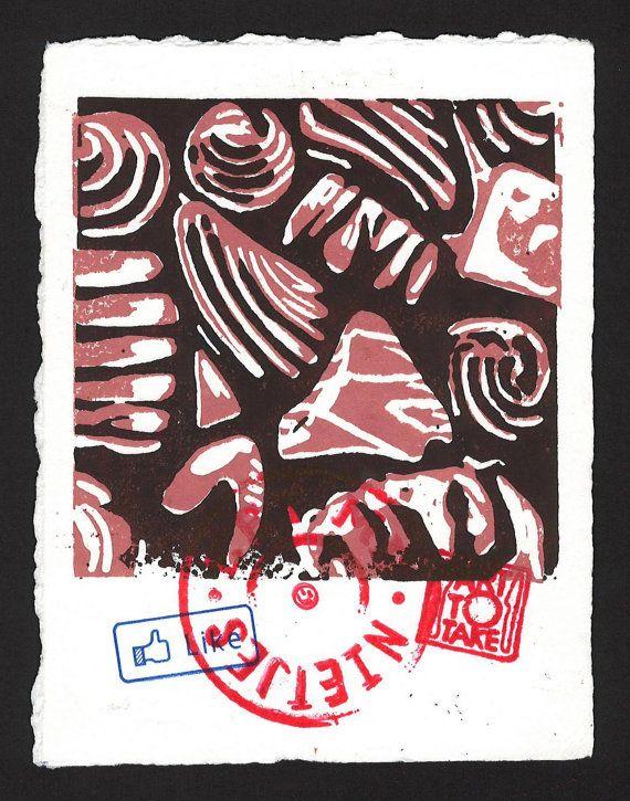 ChocolARTe van ArtToTakeStudio op Etsy