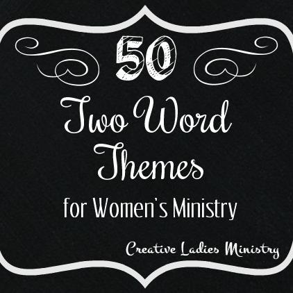 Creative ladies ministries