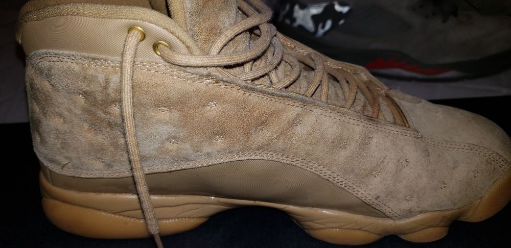 reputable site 708a1 bfa65 Nike Air Jordan Retro 13 Wheat Size 7.5-14 Elemental Gold ...