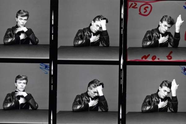 """1977: David Bowie's """"Heroes"""" Cover Shoot: The Outtakes: Masayoshi Sukita"""
