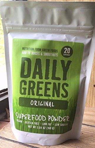 Daily Greens Original Superfood Powder Gluten Free Vegan ...