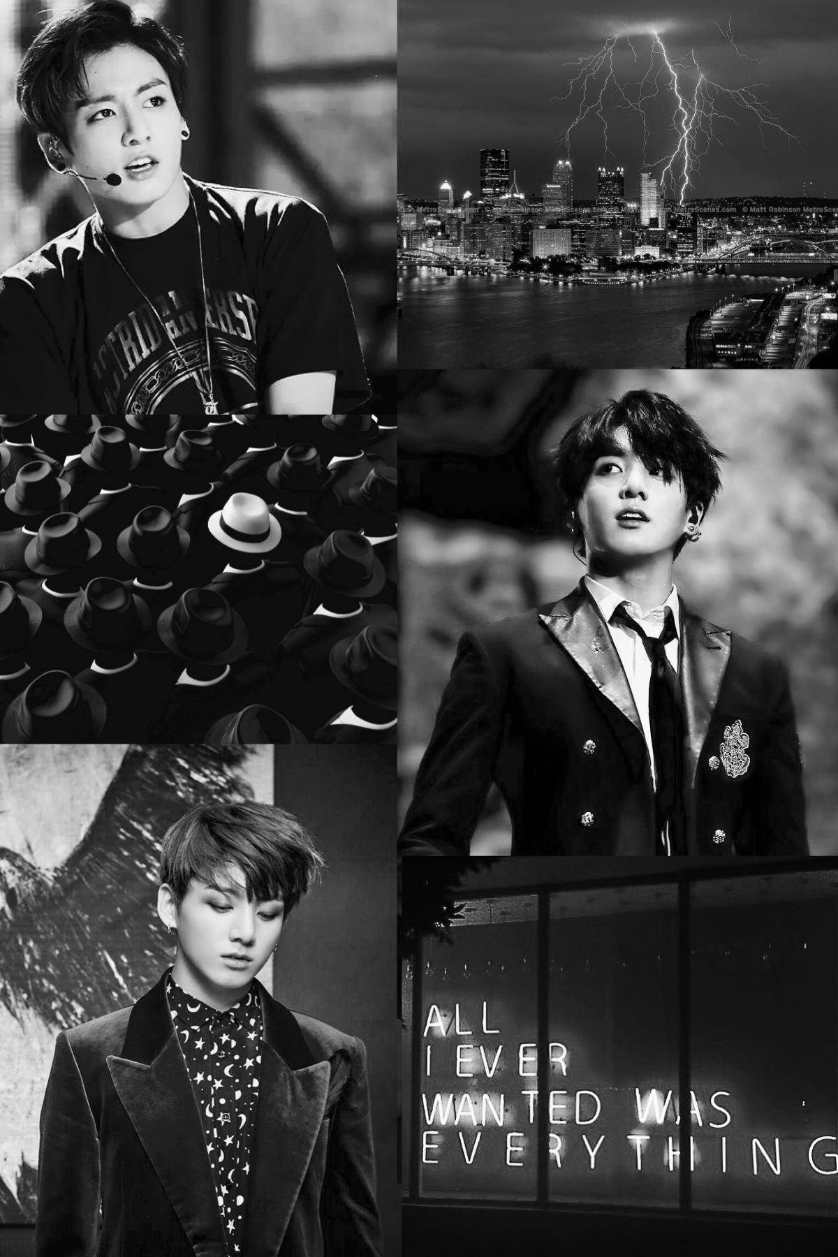 Jungkook // Jeon Jeongguk black aesthetic 🌑 Black