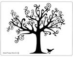 Sweet Poppy Stencil: Tree of Nature