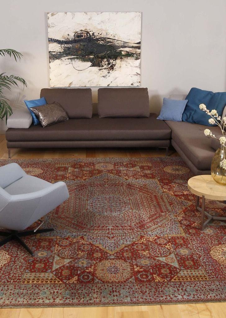 woonkamer-perzisch-tapijt-1 | inrichting | Pinterest | Interiors