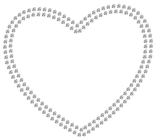 White Diamond Heart Png Clipart Best Web Clipart Jewelry Making Pearls Wedding Jewelry Photography Jewelry Making Business