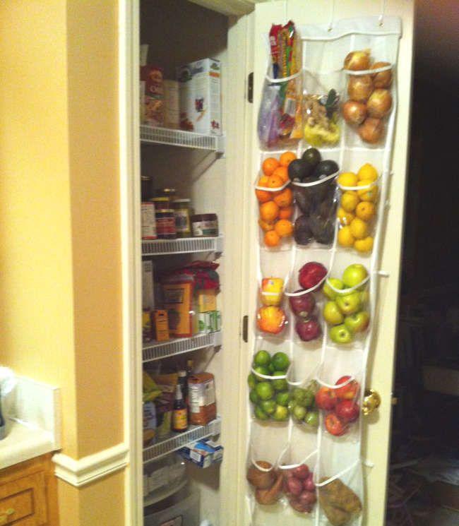 Rangement Fruits Et Légumes: Étagère à Chaussures à Suspendre: 10 Hacks