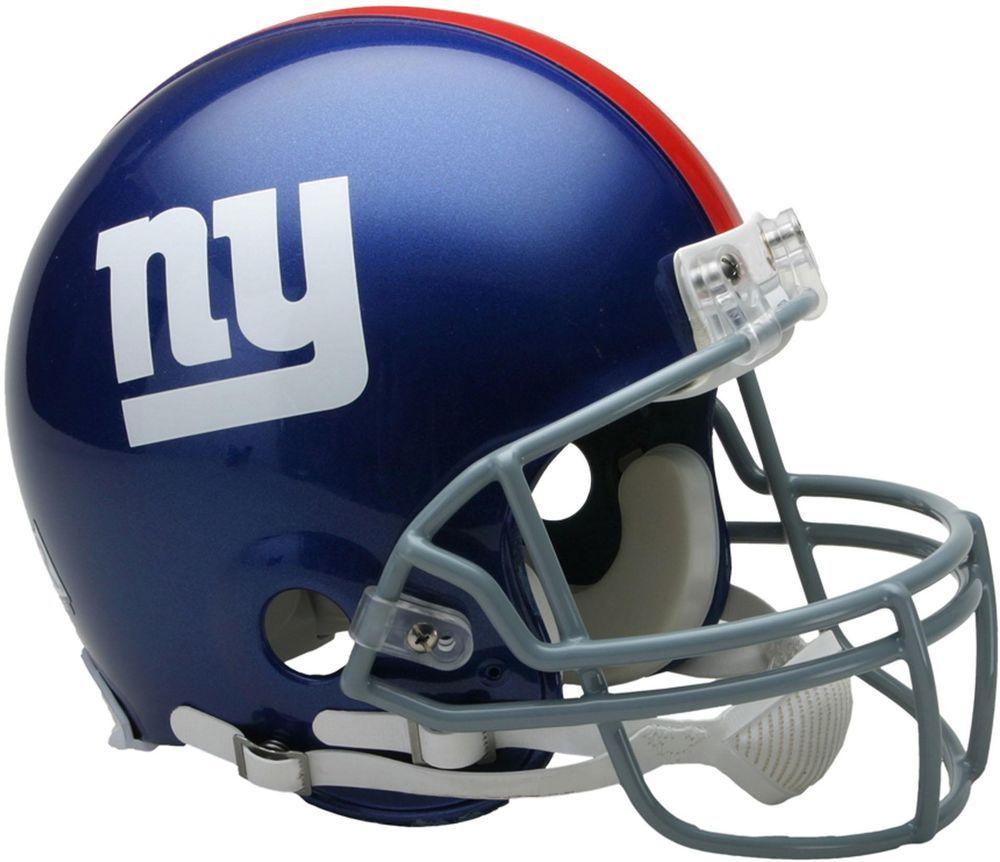 Riddell Giants VSR4 Full-Size Authentic Football Helmet - Fanatics ... 61fc28fbc