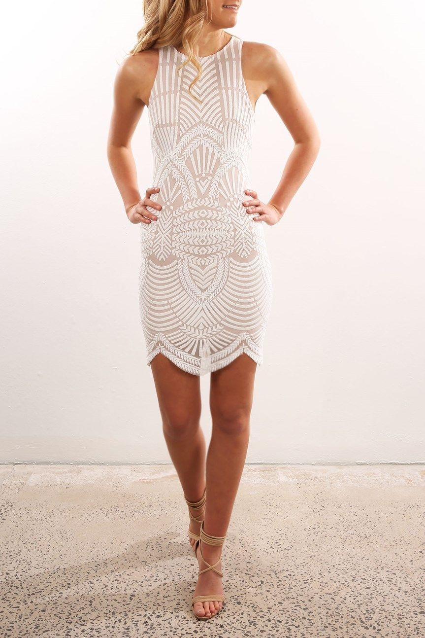 91be347b97b Rise Up Dress White