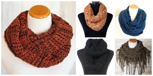 Scarf Sale: Winter Scarves 80% OFF + FREE Shipping!