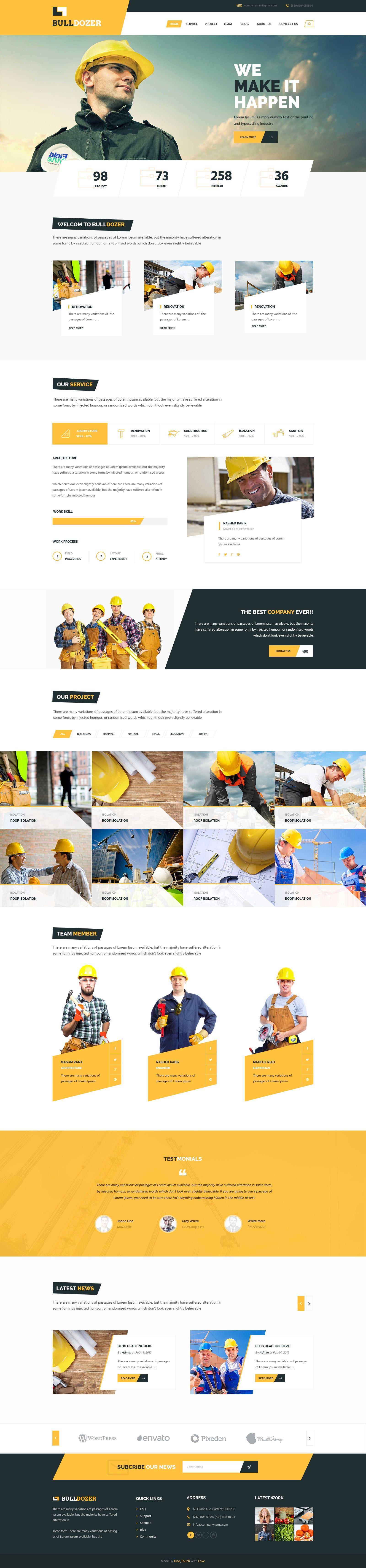 02 Index Jpg By Masum Rana Web Design Homepage Design Website Design