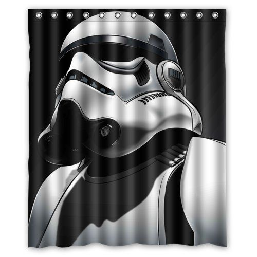 Generic Star Wars Shower Curtain 60 Inch By 72