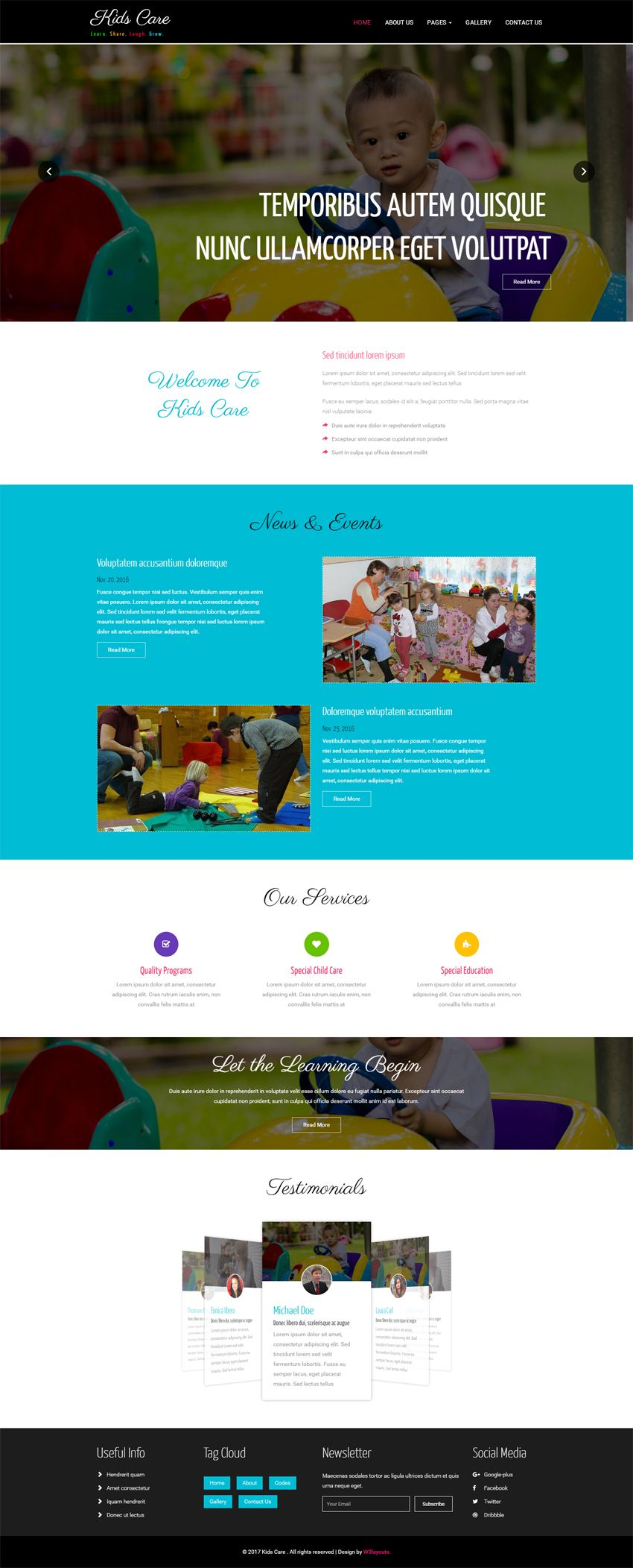 Kids Care A Society And People Category Bootstrap Responsive Web Template Web Template Responsive Web Templates