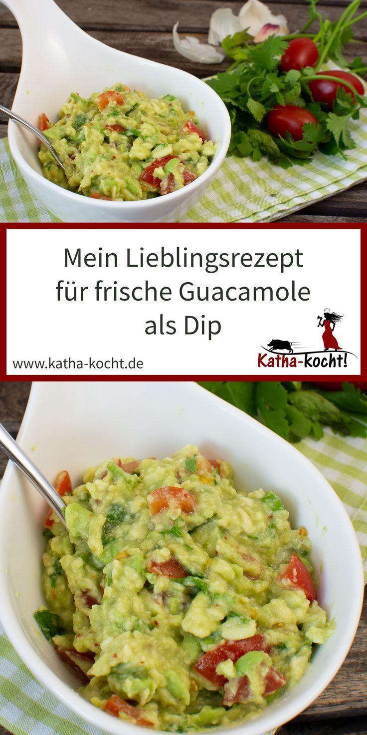 Guacamole als Dip  Pesto und Dip Rezepte