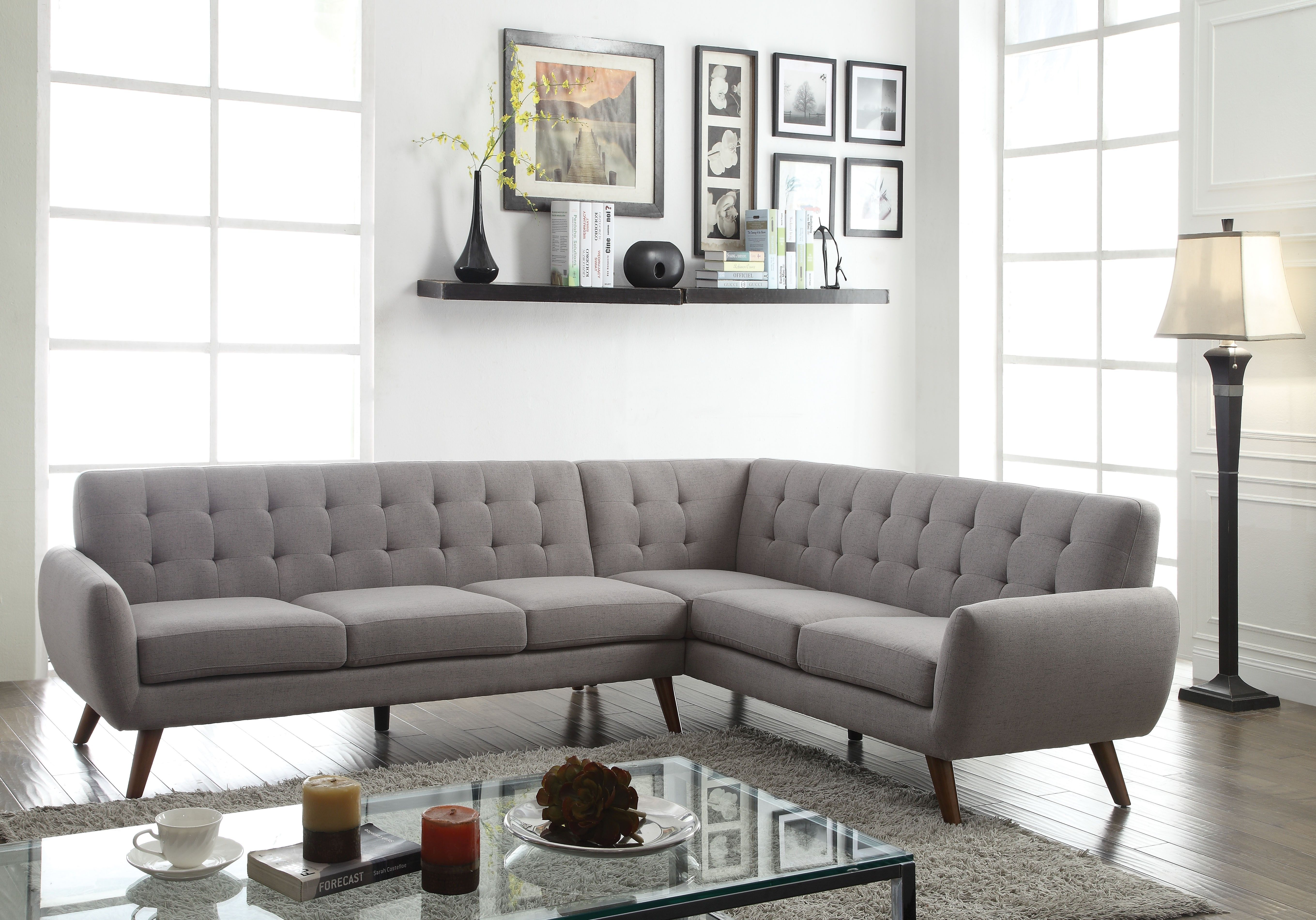 Acme sectional sofa cheny furniturechicago furniture store