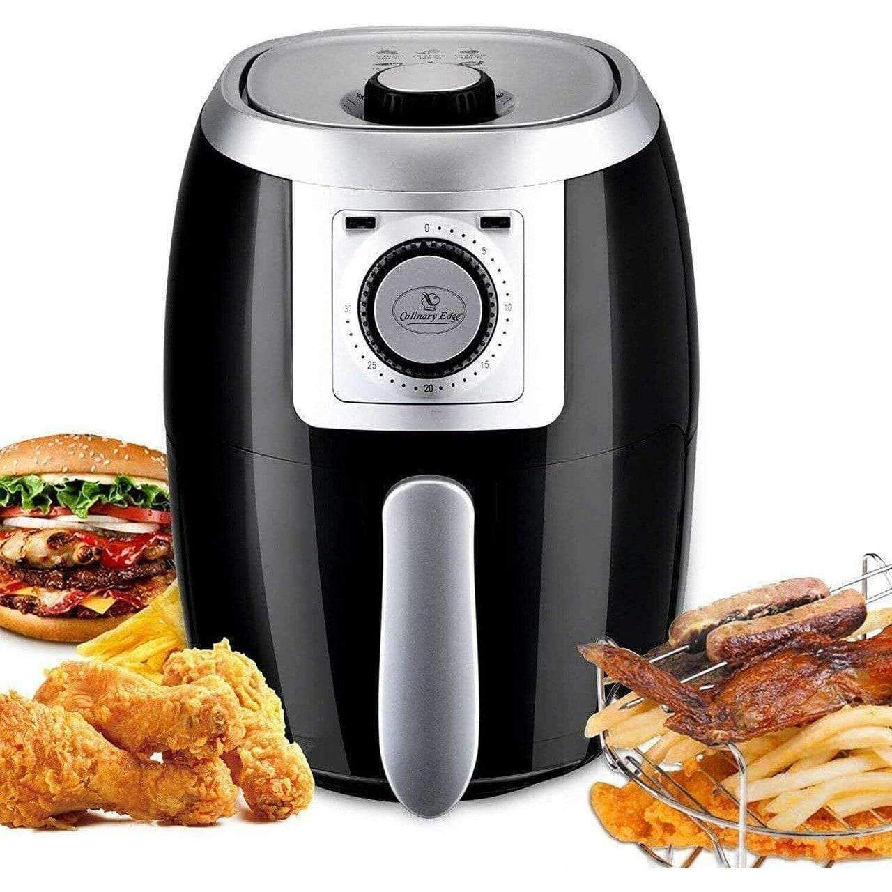 2.1QT Compact Electric Small Air Fryer and Oven Cooker