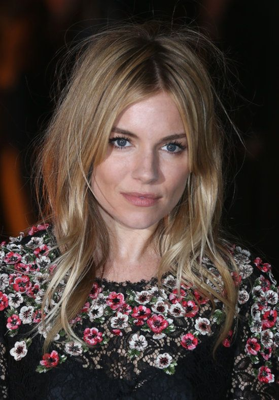 The Beckhams, Sienna Miller and More It Brits Collaborate For a Cause: Sienna Miller stepped out for the London Fashion Week event.