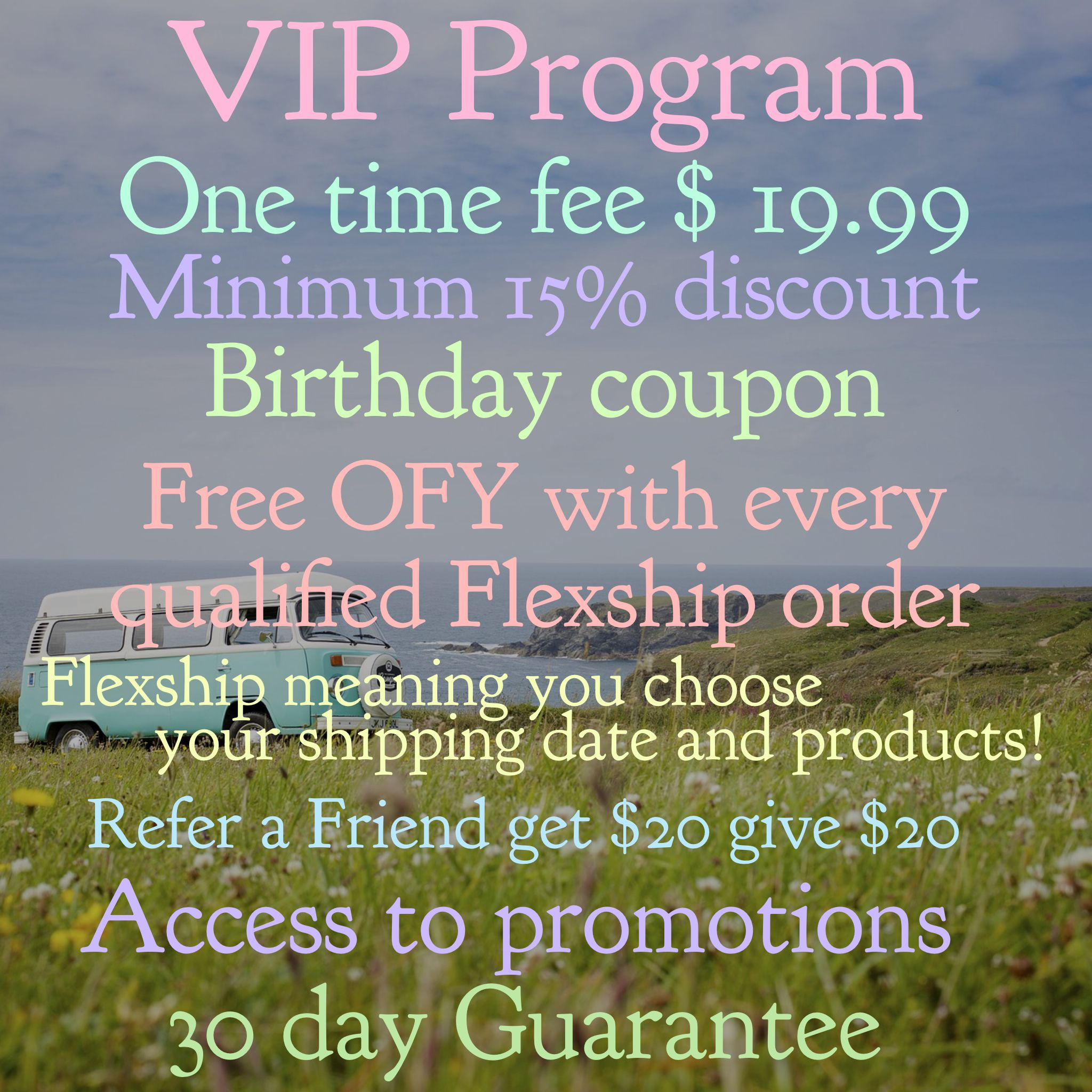 Why be a VIP? Vip perks to a natural hair are line Monat