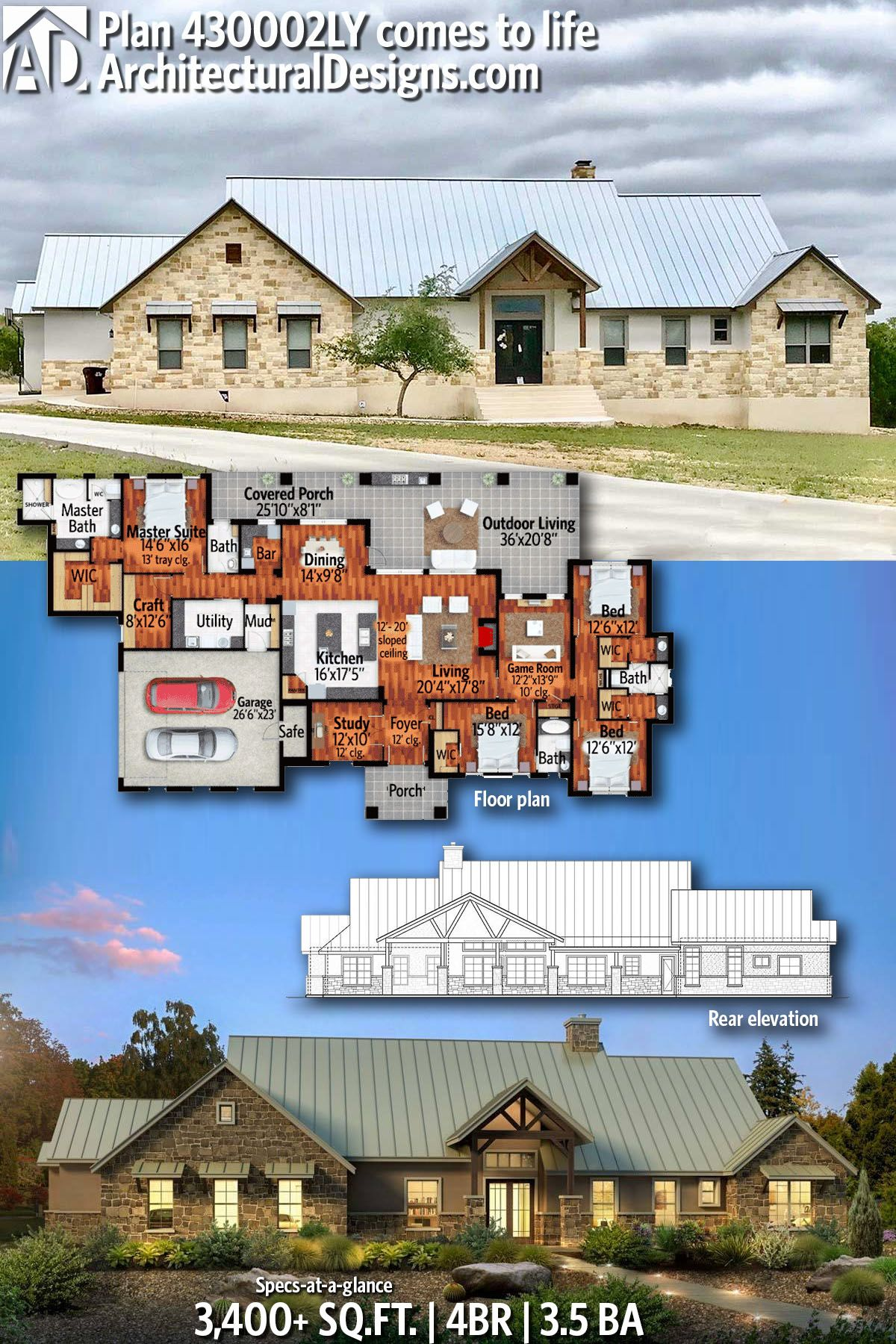 Pin On Hill Country House Plans