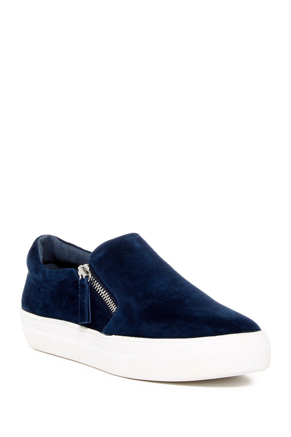 c65ca958e42 Steve Madden Glaammar Zip Embossed Sneaker | Products | Shoes ...