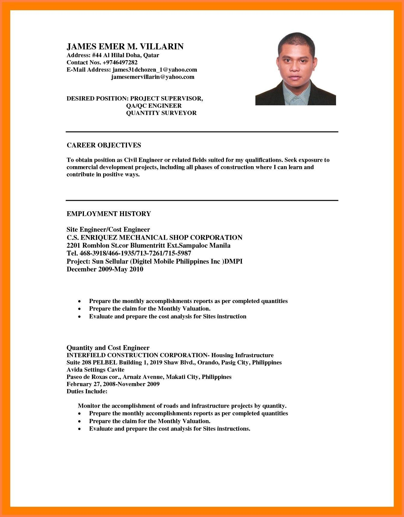 Are You Looking For Resume Tips Objective In A Resume The Objective Written On The First P Resume Tips Career Objectives For Resume Career Objective Examples