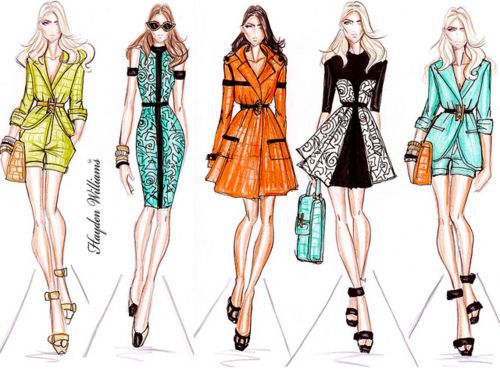 tumblr_lwacp55UQv1qmbzb9.jpg (500×372) | Outfit Illustrations ...