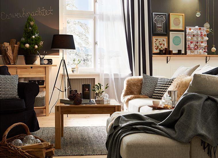 Wohnidee Magazin wohnidee scandinavian winter höffner wohnzimmer