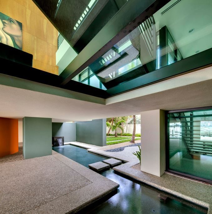 10 Rooms with an Indoor Water Feature   Water features, Contemporary ...