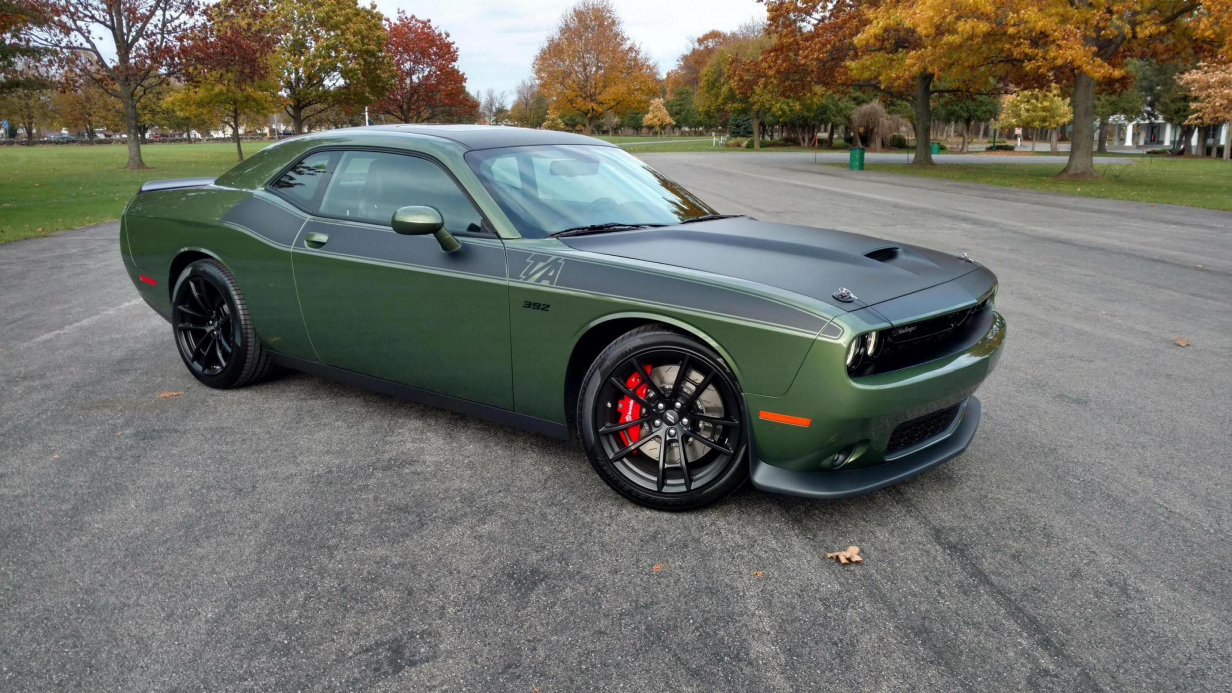 Image Result For 2018 Challenger Ta 392 F8 Green