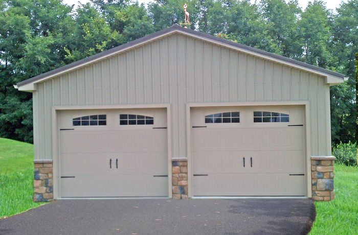 Garage Builders In Pa Amish Garages Pole Building