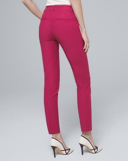 15298e19092c Women's Modern-Fit Comfort Stretch Slim Ankle Pants by White House Black  Market