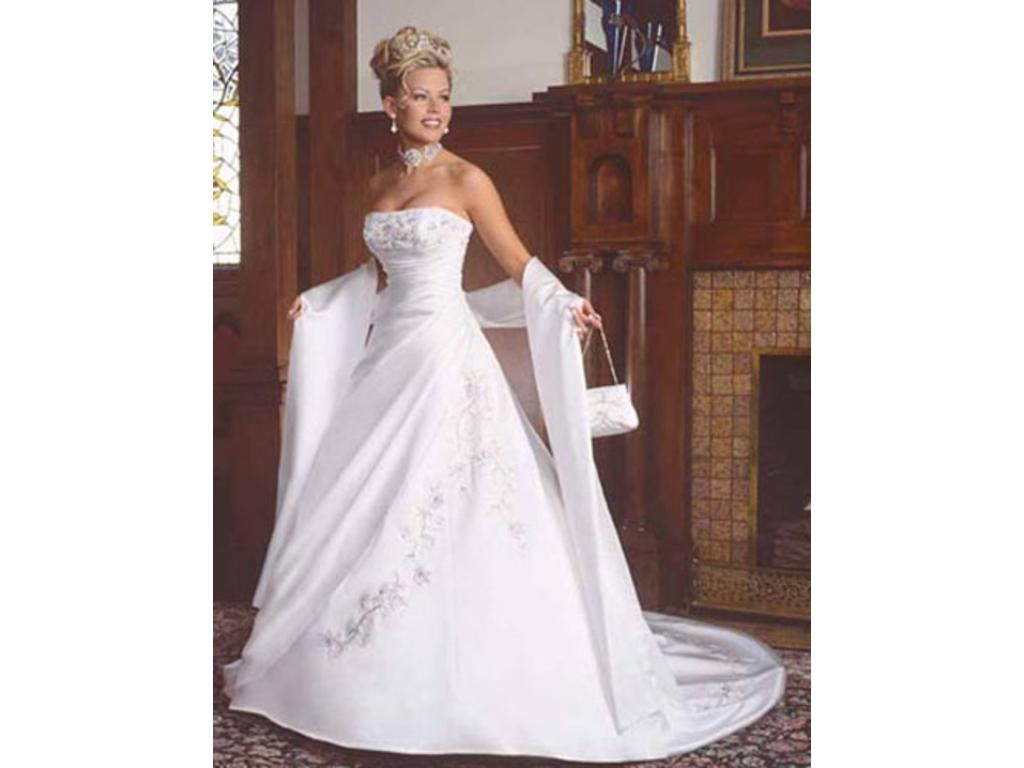 Maggie Sottero Maggie Sottero Sarchi Size 10 Size 4 Wedding Dress ...