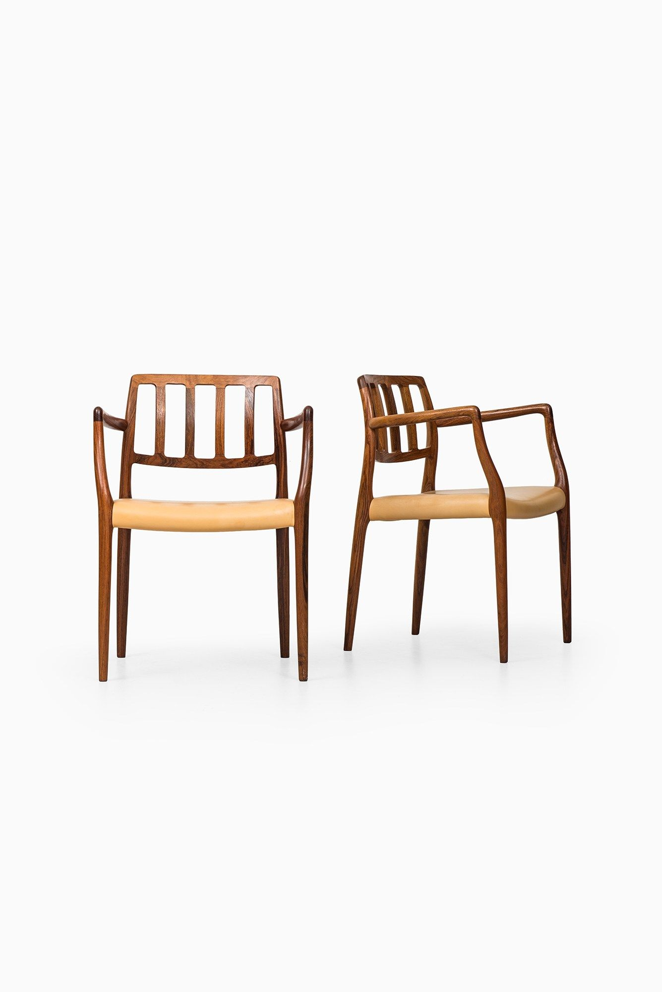 Niels O Møller Dining Chairs