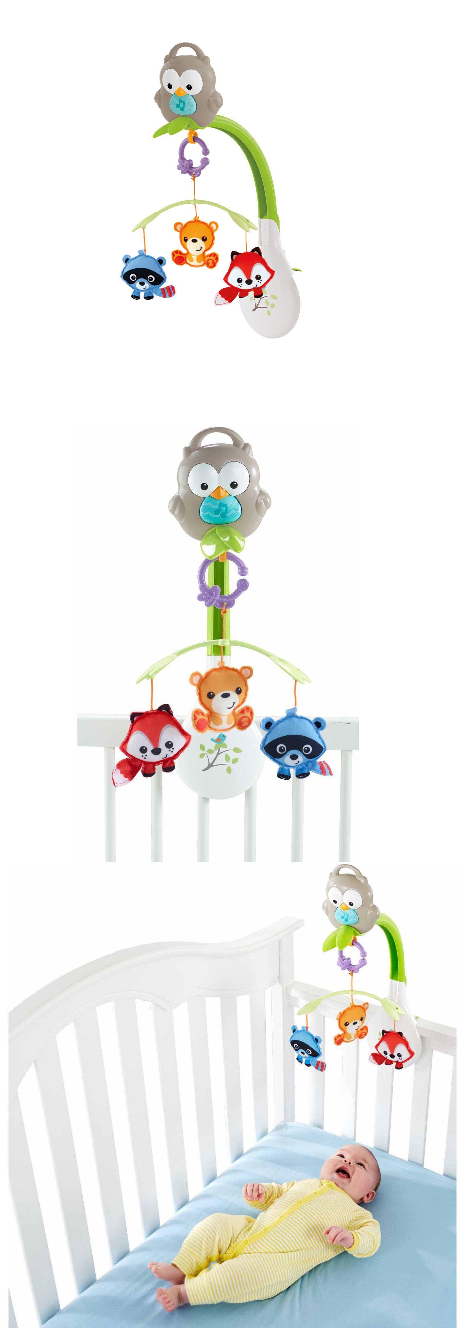 Crib Toys Fisher Price 3 In 1 Musical Mobile Motorized Crib