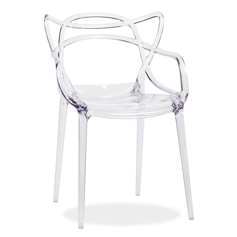 Stuhl Courve Clear Edition Chaise Plastique Chaise Starck