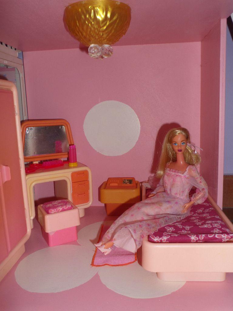 cameretta giocattolo di barbie anni 70