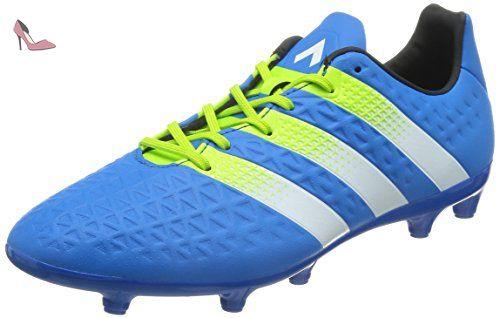 separation shoes 8654b 85c69 Adidas Ace FgAg Terrain Souple, Football Homme, Bleu (Shock Blue S16Semi  Solar SlimeFtwr White), 44 EU - Chaussures adidas (Partner-Link)