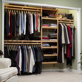 John Louis Home Standard Closet System. Having Your Closet Set Up Like This  Makes Getting Dressed Easier And Less Stressful, As Your Clothing Is More  ...