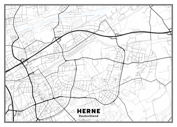 Herne Karte.Meine Karte Von Herne Erstellt Auf Cartida Com Travel Poster